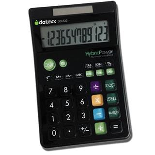 Datexx 12-digit Designer Large Desktop Calculator with Cost-sell-margin Feature