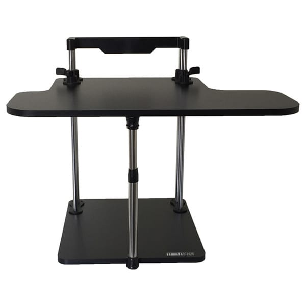 UpTrak Black Laminate Particle Board Standing Desk