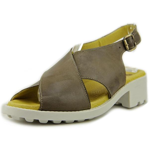 Eric Michael Women's Sicily Brown Leather Sandals
