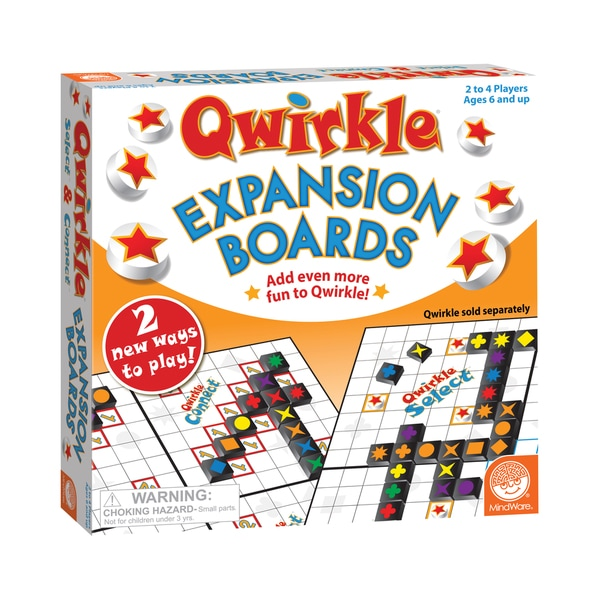 Mindware Qwirkle Double-sided Expansion Boards