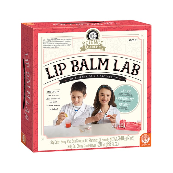 Mindware Science Academy Lip Balm Lab
