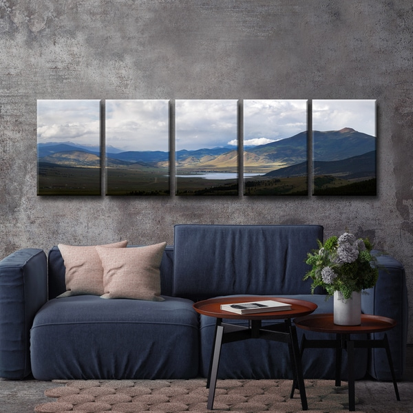 Ready2HangArt 'Eaglenest Lake' by Bartlett Hayes