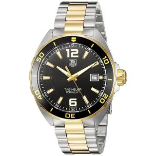 Tag Heuer Men's WAZ1121.BB0879 'Formula One' Two-Tone Stainless Steel Watch