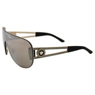 Versace VE 2166 1252/5A - Pale Gold/Light Brown by Versace for Women - 41-00-140 mm Sunglasses