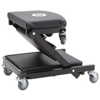 Omega 91000 Black 450-pound 40-inch Foldable Creeper Seat