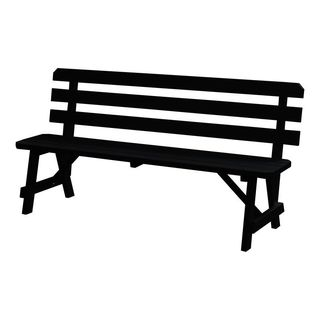 70-inch Traditional Backed Bench