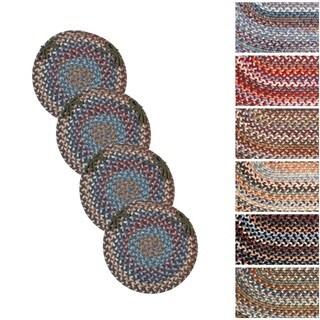 Augusta Wool Reversible Chair Pads (Set of 4)