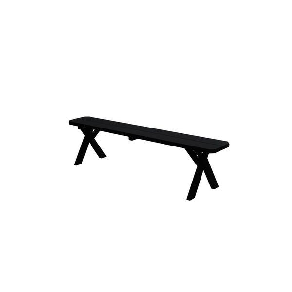 33-inch Crossleg Bench