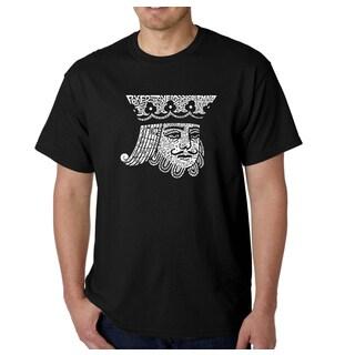 Los Angeles Pop Art Men's King of Spades Cotton T-shirt