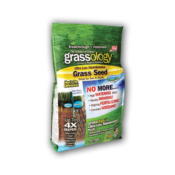 Grassology Organic Grass 3-pound Seed Bag