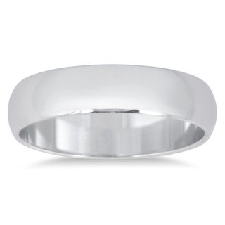 Marquee Jewels 14k White Gold Wedding Band