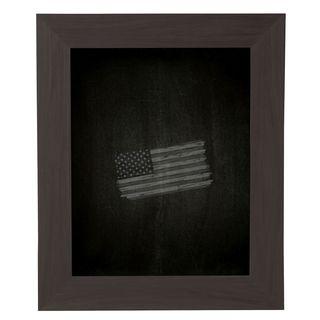 American Made Rayne Black Walnut Blackboard/ Chalkboard