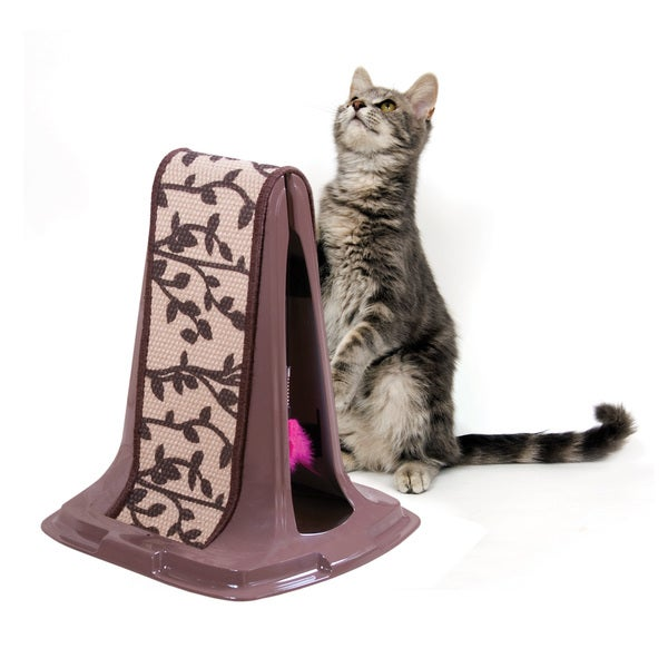Petmate Lean on Me Jute Cat Scratching Post