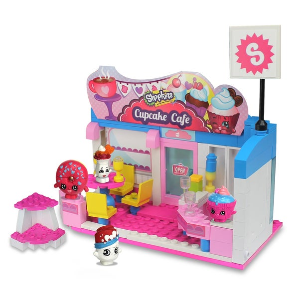 Shopkins S3 Kinstructions Scene Cafe Set