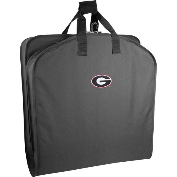 Wally Bags Georgia Bulldogs Black Polyester 40-inch Garment Bag