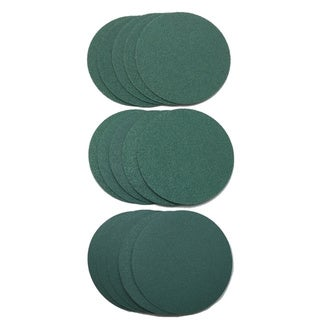 World Abrasive 3-inch No Hole Film, Hook-and-loop, 220/ 320/ 400 Grit 15-disc Variety Pack