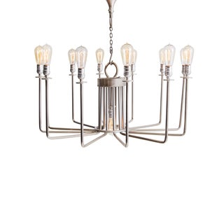Hip Vintage Vitani Metal Chandelier