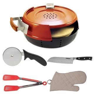 Pizzacraft PC0601 Pizzeria Pronto Stovetop Pizza Oven Bundle