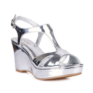 Celeste Hedy-02 Women's Wedge Party Sandals