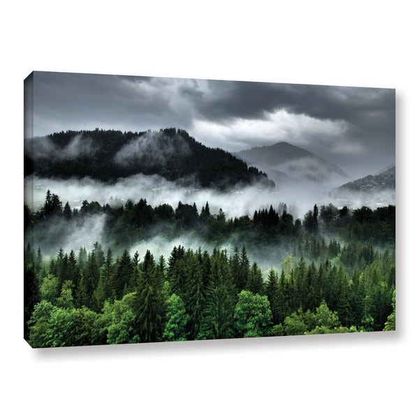 Ken Skehan's 'After an Alpine Summer Storm' Gallery Wrapped Canvas