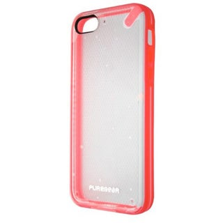 PureGear Clear Pink Slim Shell Case Cover for iPhone 5C