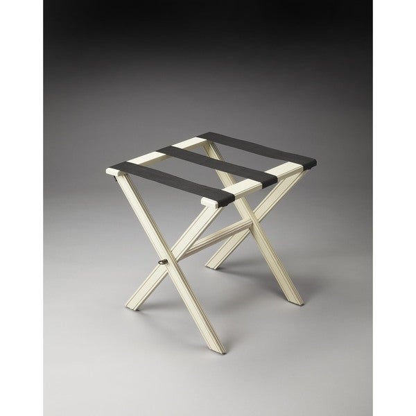 Butler Anthony Cottage White Luggage Rack