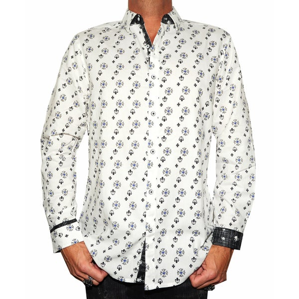 Rock Roll N Soul Men's 'FAULT IN STARS' Casual Button-up Fashion Woven Shirt