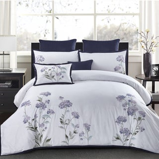 Hydrangea 3 Piece Duvet Cover Set