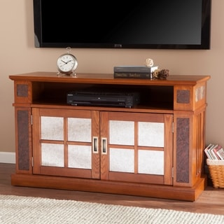 Upton Home Marshall Media Console with Faux Stone