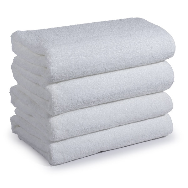 Cambridge Towel Premium Institutional Spa Bath Towels (Set of 4)