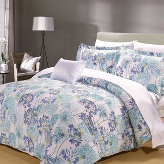 Meadow 8 Piece Cotton Duvet Cover and Sheet Set