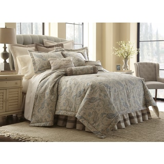 Sherry Kline Country Toile Green 6 Piece Cotton Comforter