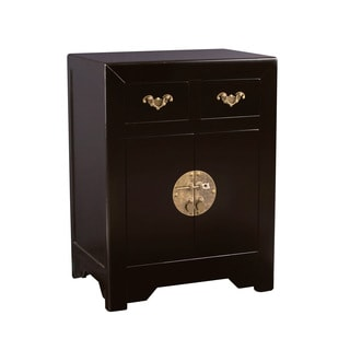 Zahava Home Collection Ningbo Black End Table / Nightstand (China)