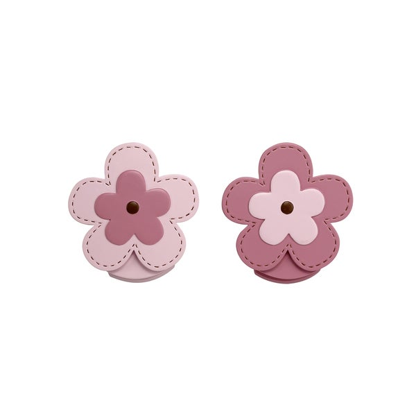 NoJo Flower Wall Decor Clips