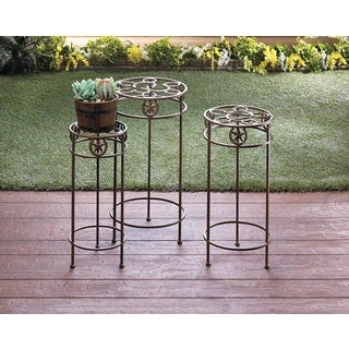 Texas Style 3-Piece Plant Stand