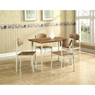 Global Furniture Rectangle Dining Table and Four Chairs