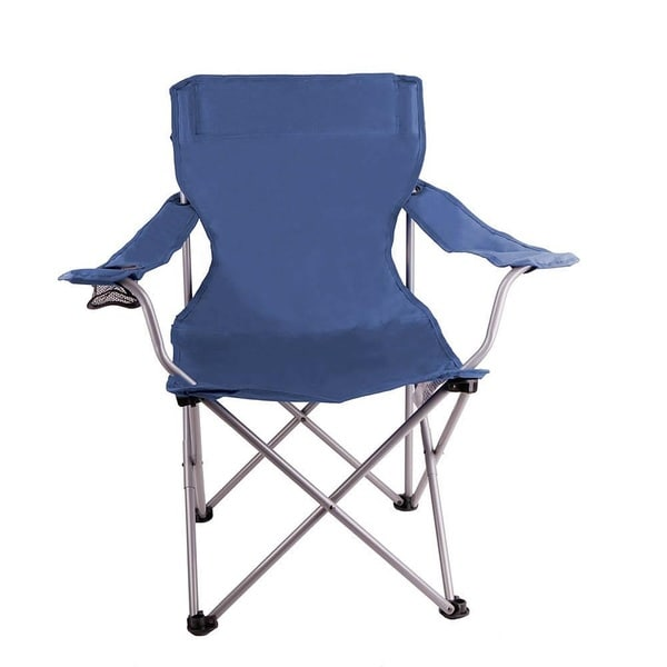 Zenith Dark Blue Lightweight Camping Chair