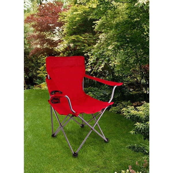 Zenith Red Lightweight Camping Chair