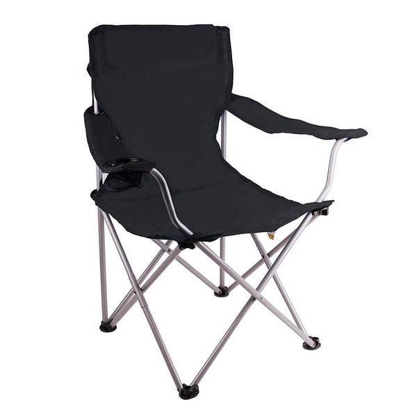 Zenith Black Lightweight Camping Chair