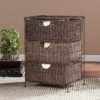Harper Blvd Kerry Seagrass 3-Drawer Storage