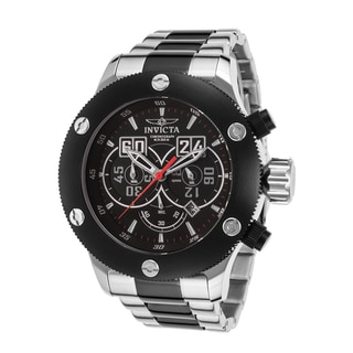 Men's Russian Diver Two-tone Stainless Steel Chronograph Watch