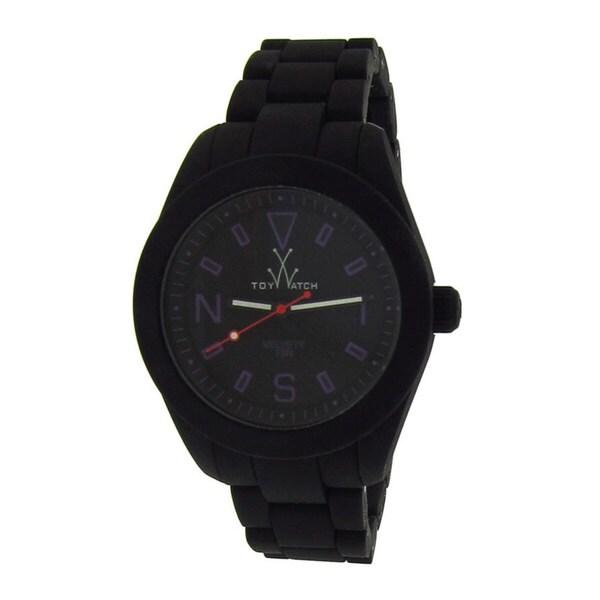 ToyWatch Women's Black Silicone Watch