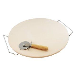 Home Innovations 15-inch Jumbo Baking Stone Set
