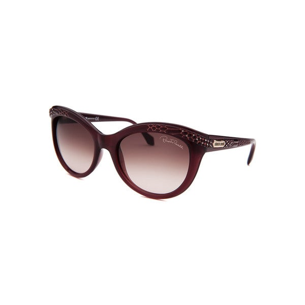 Roberto Cavalli Women's RCAVALLISUN-RC789S-81T-5 Brown Plastic Cateye Sunglasses