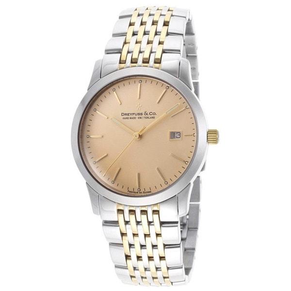 Dreyfuss & Co. Ladie's Silvertone Stainless Steel Watch