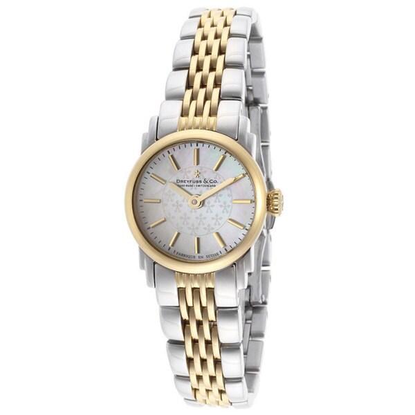 Dreyfuss & Co Women's Two-tone Stainless Steel Watch