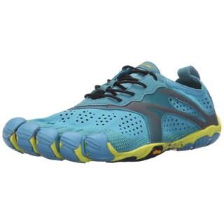 Vibram Fivefingers Blue/Yellow V-run Footwear