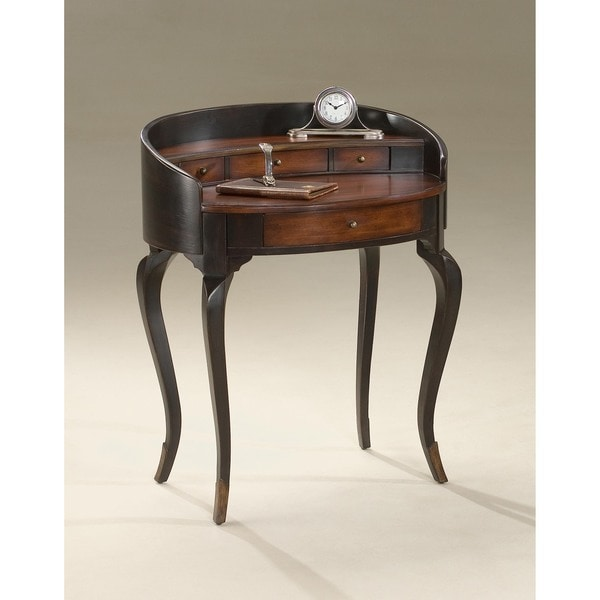 Butler Damosel Cafe Noir Ladies Writing Desk
