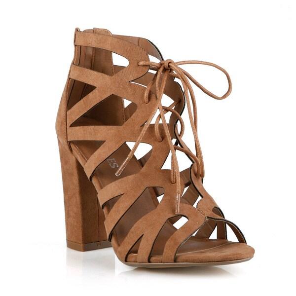 Hotsoles Cygnet Lace-up High Heels Women's Sandals