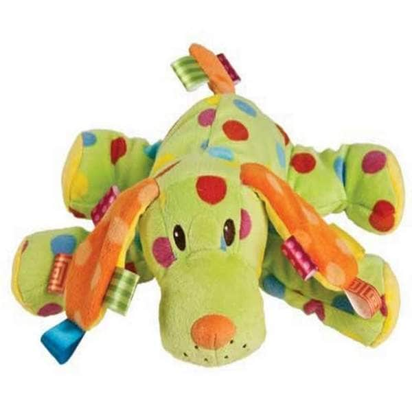 Taggies Colours Polyester 10-inch Spotty Dog Plush Toy